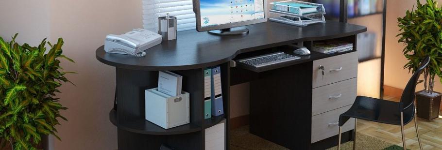 компьютерный стол прямой фото
